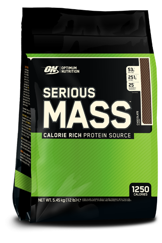 Optimum Nutrition - SeriousMass, 5,45kg