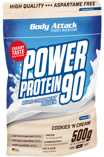 Body Attack Power Protein 90, 500g