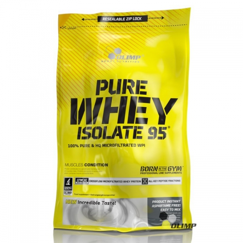 Olimp Pure Whey Isolate 95, 600g Beutel