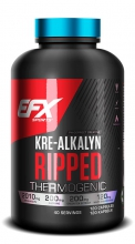 EFX Kre-Alkalyn Ripped, 120 Caps